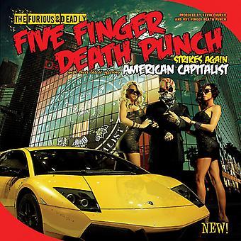 Fem Finger Death Punch - amerikanske kapitalistiske [CD] USA importerer