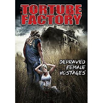 Tortur fabrik: Depraverede kvindelige gidsler [DVD] USA importerer