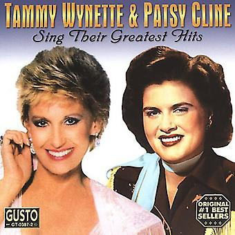 Wynette/Cline - Sing Their Greatest Hits [CD] USA import