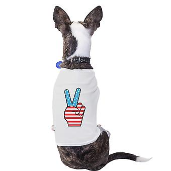 Cute American Flag Pet T Shirt Unique Patriotic Gifts For Veterans