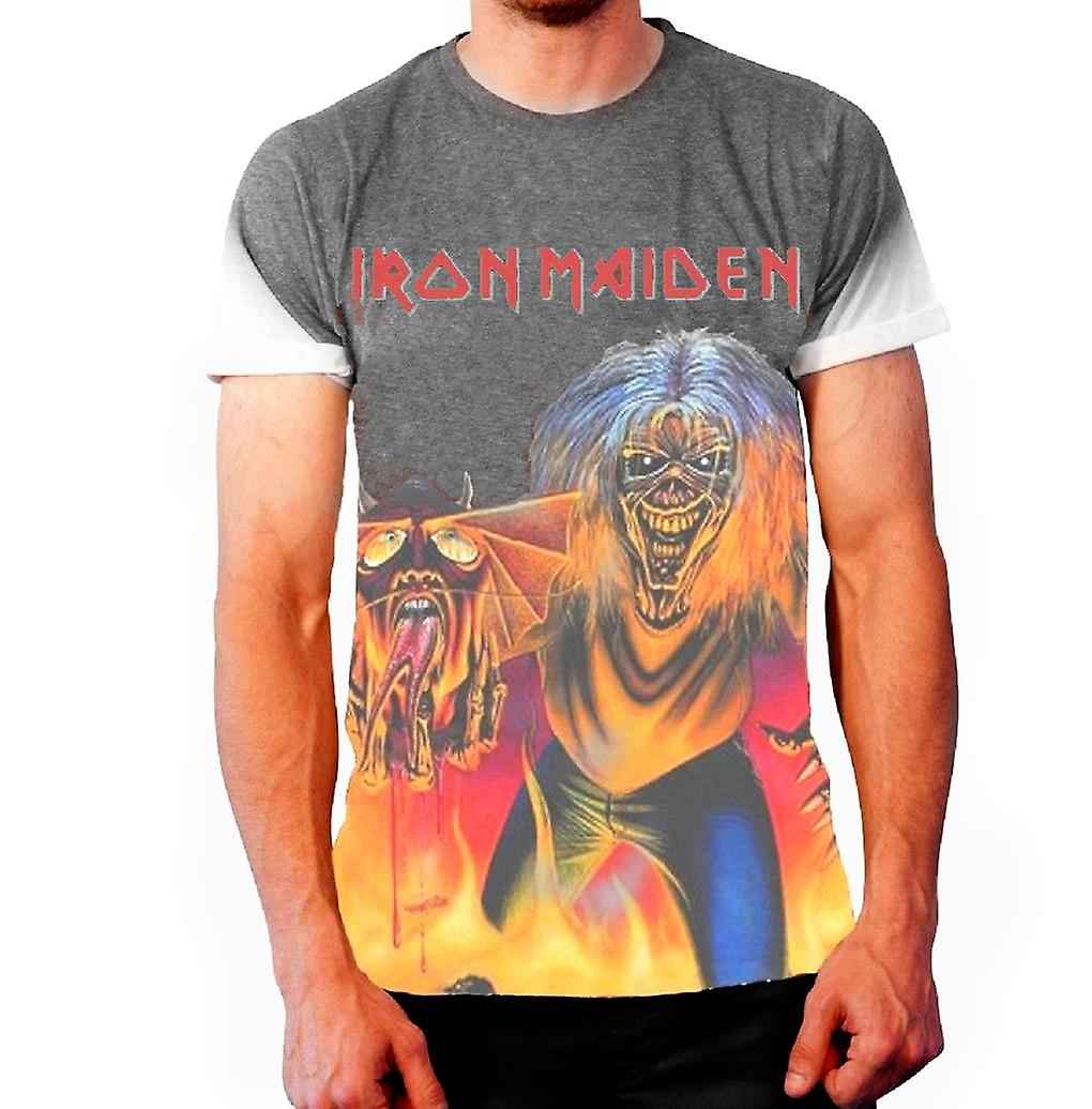 Born2Rock - IRON MAIDEN NUMBER OF THE BEAST- T-Shirt