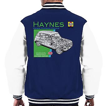 Haynes Owners Workshop Manual 0072 Renault 4 mannen Varsity Jacket