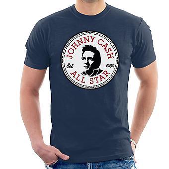 All-Star Herren T-Shirt Johnny Cash zu unterhalten