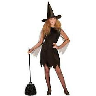 Children's costumes  WITCH' (dress, belt, hat)