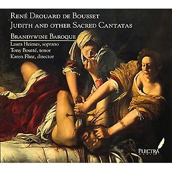 Brandywine Baroque - Judith & Other Sacred Cantatas [CD] USA import