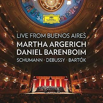 Argerich/Barenboim - Live From Buenos Air [CD] USA import