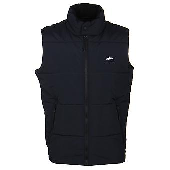 Penfield Washburn Black Quilted Padded Gilet