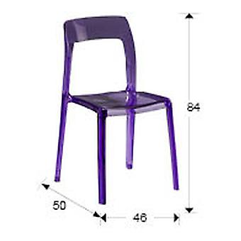 Schuller Lina Chair, Clear Purple (Furniture , Dining Room and kitchen , Chairs)