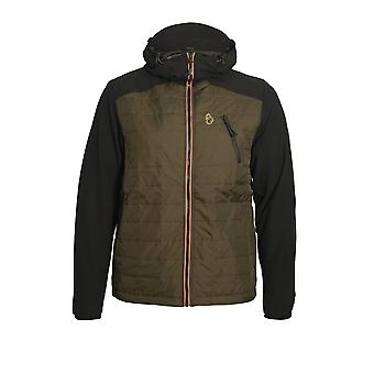 LUKE SPORT Randolph Packable Hooded Jacket | Jet Black
