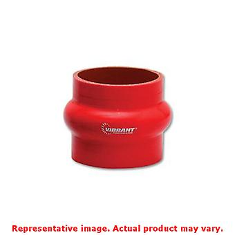 Vibrant Silicone - Hump Hose Couplings 2739R Red 5