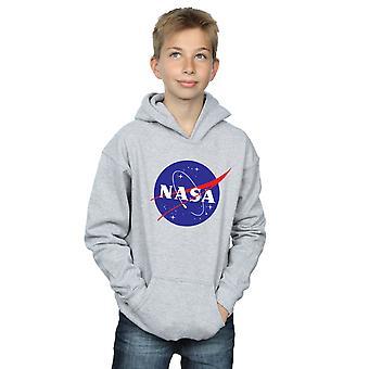NASA Boys Classic Insignia Logo Hoodie