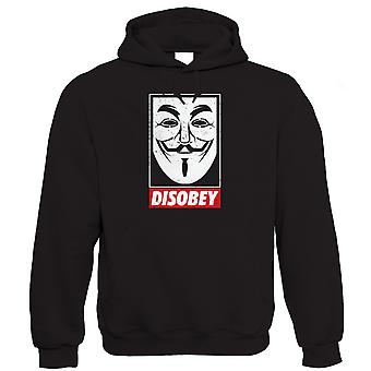 Anonymous Mask, Mens Hoodie (S to 5XL)