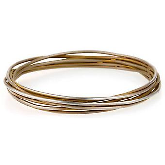 Ti2 Titanium Chaos Range Bangle - Tan Beige