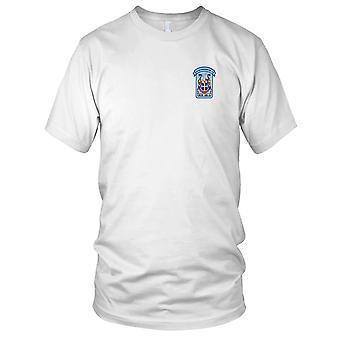 E.U. da Marinha USS DDG-20 Goldsborough bordada Patch - Mens T-Shirt