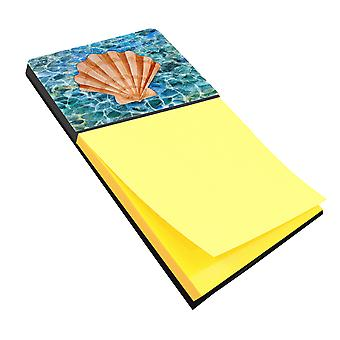 Carolines Treasures  BB5367SN Scallop Shell and Water Sticky Note Holder