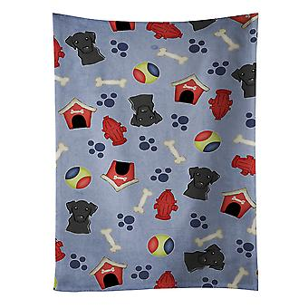 Dog House Collection Black Labrador Kitchen Towel