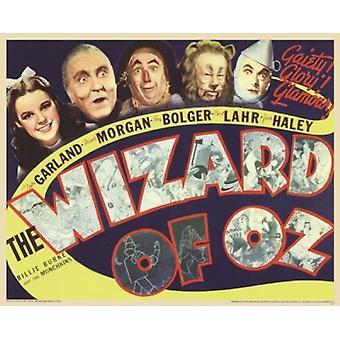 Wizard of Oz - Retro Poster Poster Print