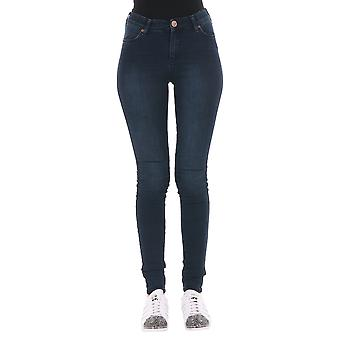 2Nd one ladies 1005700400014 blue cotton of jeans