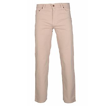 MUSTANG Hitchhiker trousers mens jeans beige regular