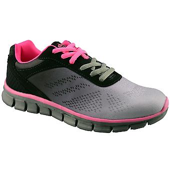 Ladies Womens Superlight Memory Foam Running Joggers Lace Up Trainers Shoe