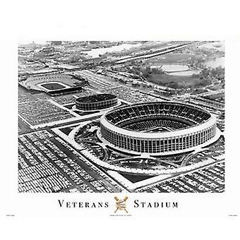 Veterans Stadium Poster Print (20 x 16)