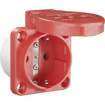 Add-on socket IP54 Red PCE 601.450