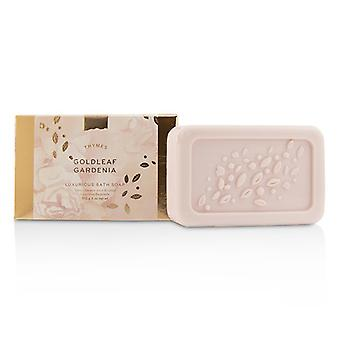 Thymes Goldleaf Gardenia Luxurious Bath Soap 170g/6oz