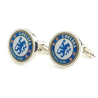 Chelsea Football Sport Manschettenknöpfe Neuheit Hochzeit Geburtstagsgeschenk CFC