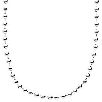 Sterling 925 Silver bling ball chain - BALL 4 mm