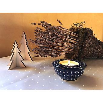 Kerzenständer / Teelichthalter, Ø 8,5 cm, 4 cm ↑, Unikat 22, BSN m-1077