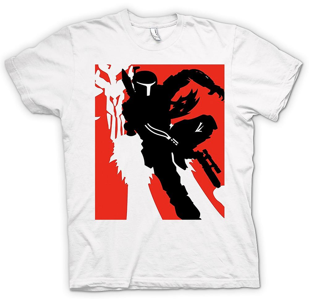 Hombres camiseta-Star Wars - Bobba Fett - Pop Art
