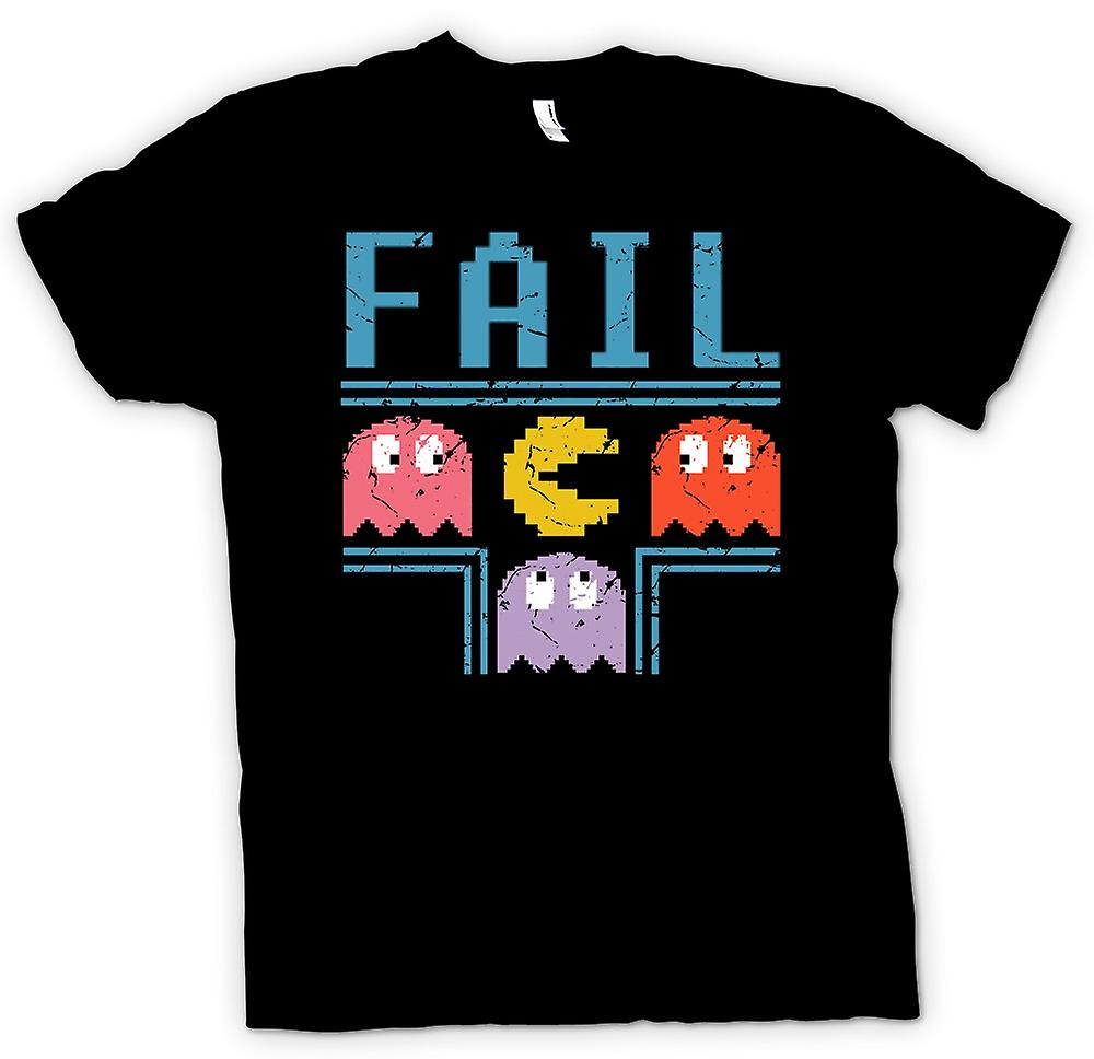Heren T-shirt - Pacman Geïnspireerd Fail - Gamer