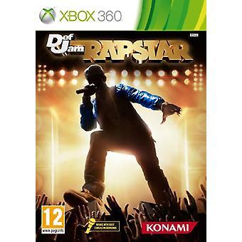 Defjam Rapstar - Spiel nur (Xbox 360)