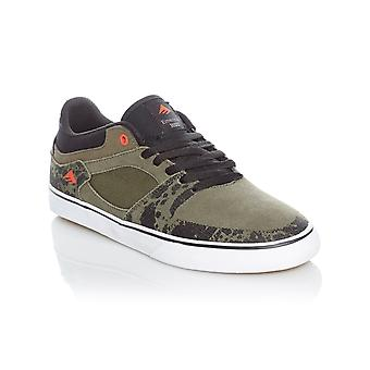 Emerica Green-Black-White The Hsu Vulc Shoe