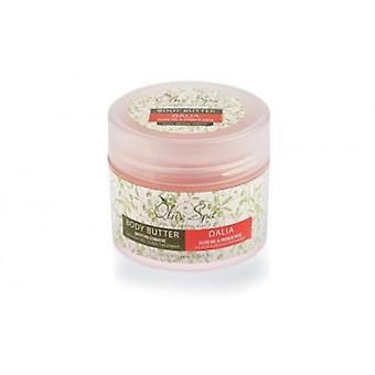 Body butter Dalia 200ml. French rose and shea butter.