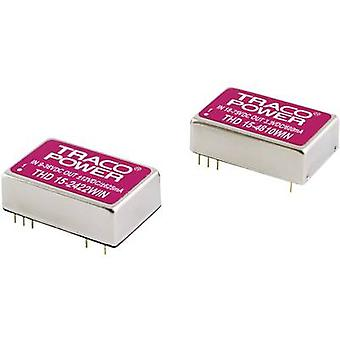 TracoPower THD 15-2410WIN DC/DC converter (print) 24 Vdc 3.3 Vdc 4 A 15 W No. of outputs: 1 x