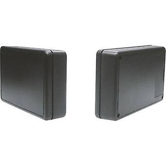 Strapubox 6006SW universele behuizing 125 x 74 x 27 acrylonitril butadieen styreen zwart 1 PC('s)