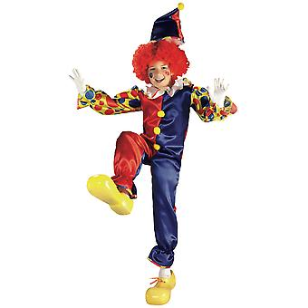 Bubbles The Clown Circus Joker Birthday Party Dress Up Boys Costume