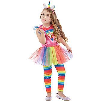 Единорог костюм для детей 3-х частей Единорог костюм