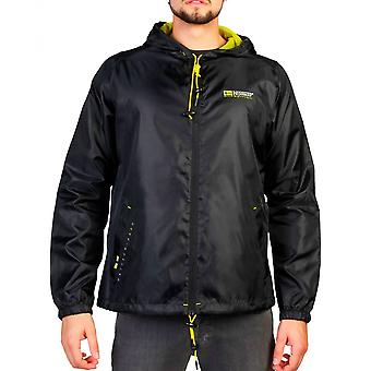 Geographical Norway Mens Black barca uomo giacca