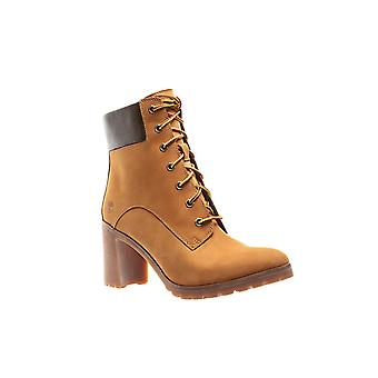 Timberland Allington 6-inch women's genuine leather boots beige
