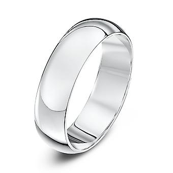 Sterne Trauringe Hochzeit Ring 9ct Weissgold Heavy D Form 5mm