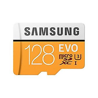 Samsung EVO 128 GB Micro SD Class 10 Memory Card with Adaptor