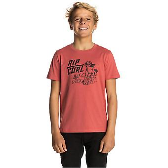 Rip Curl Mineral Red Arty Surf Kids T-Shirt