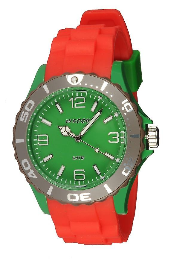Waooh - Watch MC42 Tricolore green & taupe
