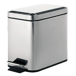 Pedal Bin Rectangular polished 290913