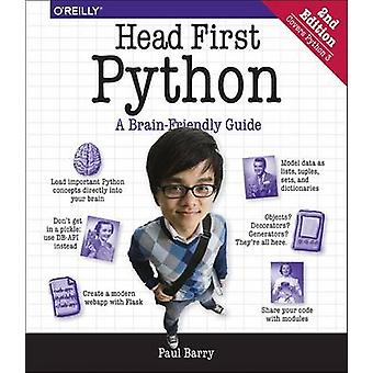 Head First Python by Paul Barry - 9781491919538 Book