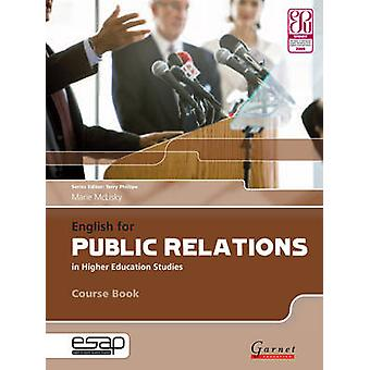 English for Public Relations in Higher Education Studies (Student Man
