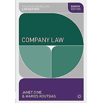 Vennootschapsrecht (Palgrave Macmillan wet Masters)