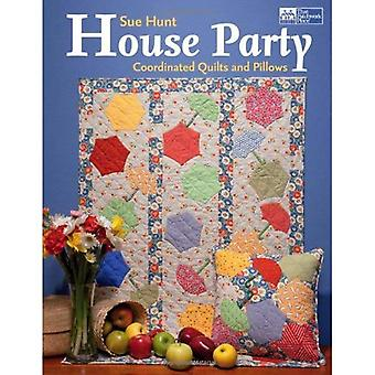 House Party: Coordinated Quilts and Pillows